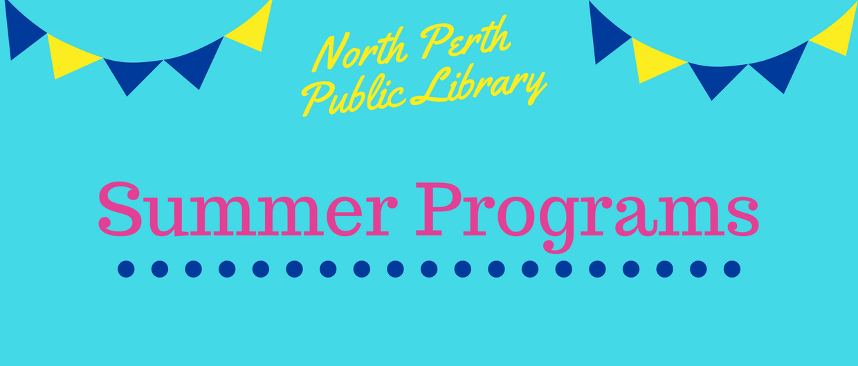 Text says Summer Programs 2018