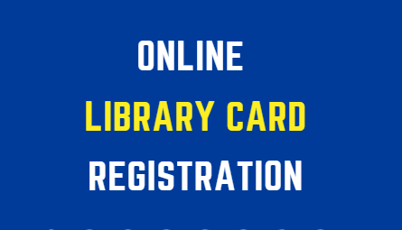 Online Library Card Registration