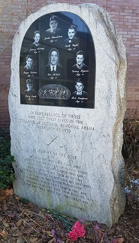 Listowel Memorial Arena monument