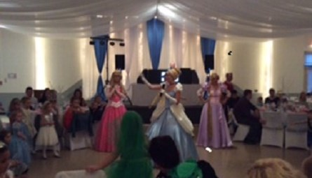 Cinderella dancing at the Ball