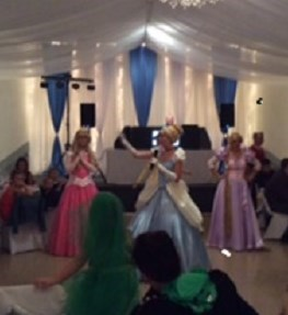 The Princesses dancing