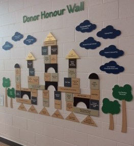 Donor Honour Wall