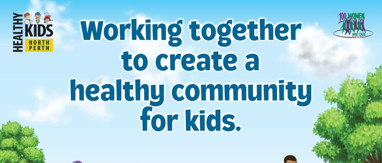 Healthy Kids North Perth poster